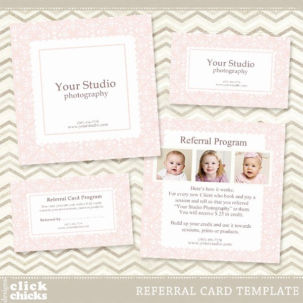 Referral Card Template Free Luxury Graphy Referral Card Template 5x5 Card & Rep Card