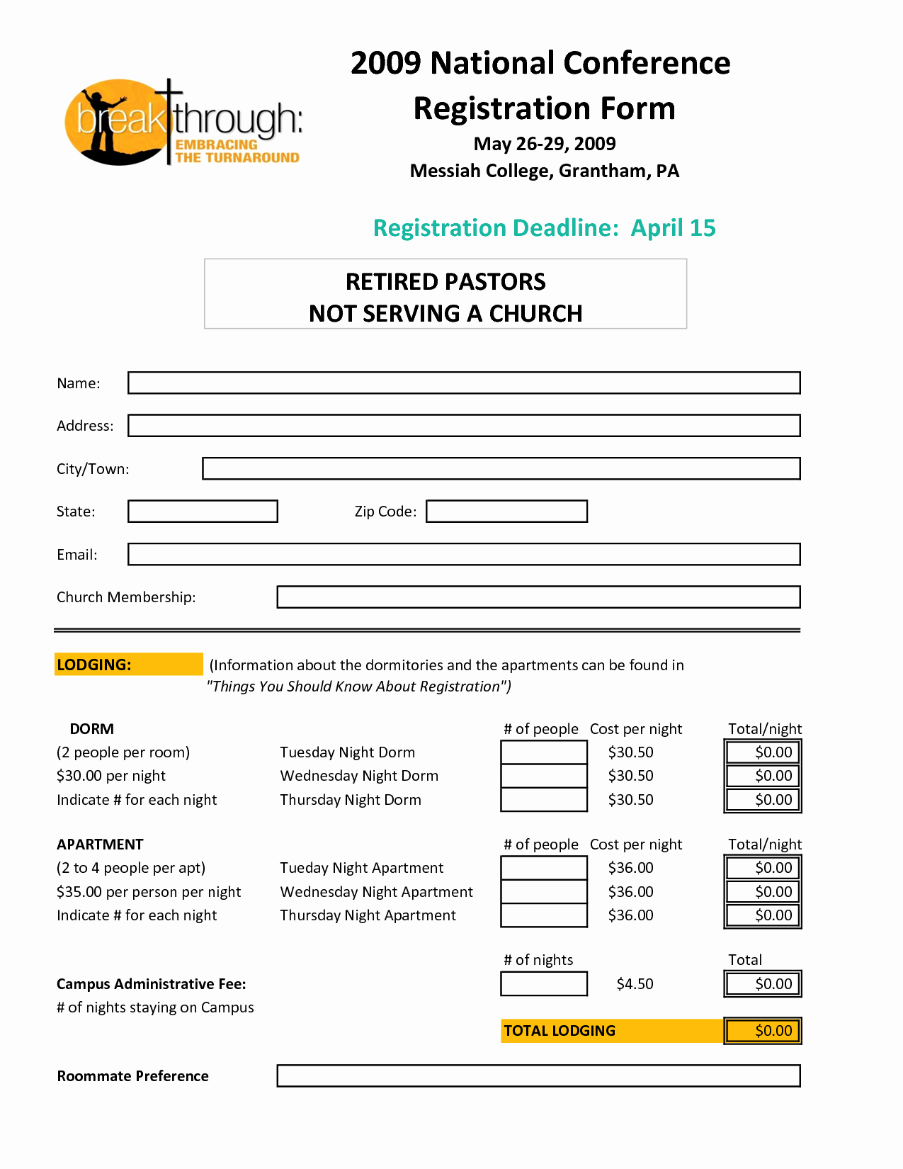 Registration form Template Word Awesome Registration form Template