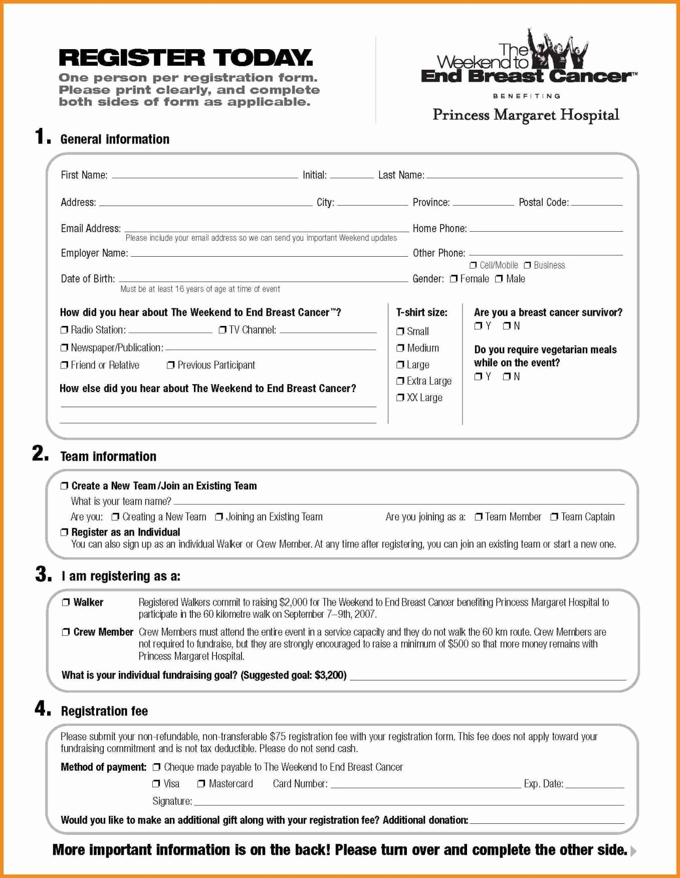 Registration forms Template Word Awesome Registration Template Word Portablegasgrillweber