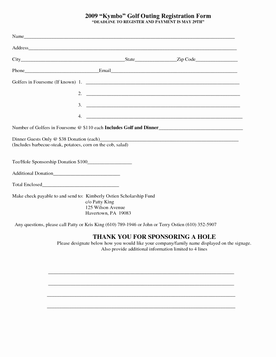 Registration forms Template Word Luxury 5 Registration form Templates Word – Word Templates
