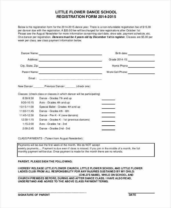 Registration forms Template Word Unique Registration form Template 9 Free Pdf Word Documents