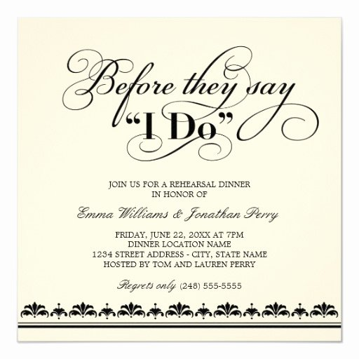 Rehearsal Dinner Invitation Template Awesome Wedding Rehearsal Dinner Invitation Wedding Vows