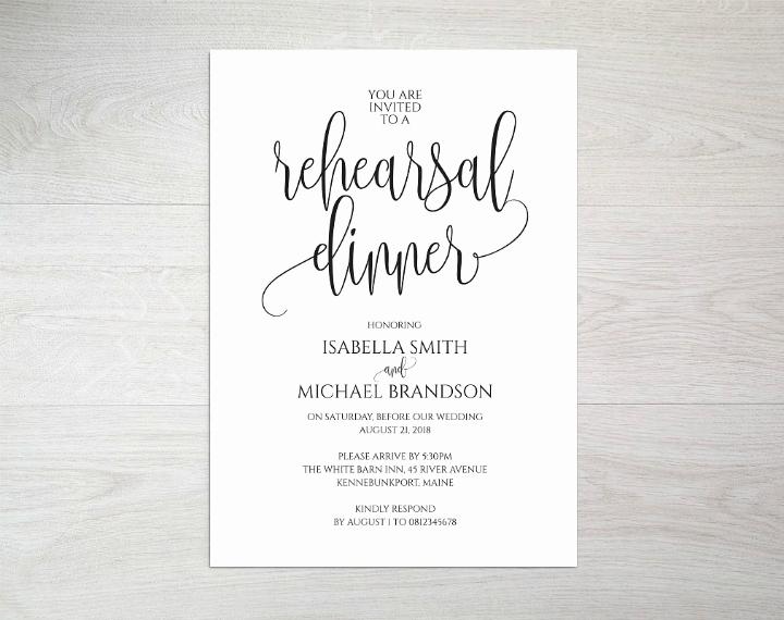 Rehearsal Dinner Invitation Template Best Of 14 Wedding Rehearsal Invitation Designs & Templates Psd