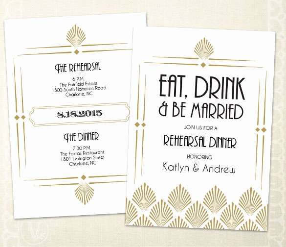 Rehearsal Dinner Invitation Template Best Of 49 Dinner Invitation Templates Psd Ai Word