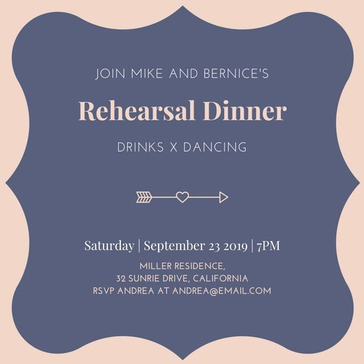 Rehearsal Dinner Invitation Template Best Of Customize 411 Rehearsal Dinner Invitation Templates