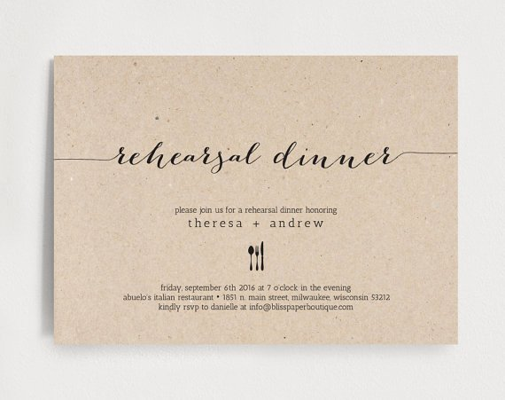 Rehearsal Dinner Menu Template Beautiful Rehearsal Dinner Invitation Wedding Rehearsal Editable