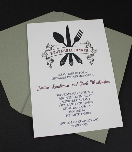 Rehearsal Dinner Menu Template Best Of Wedding Invitation Template Sets