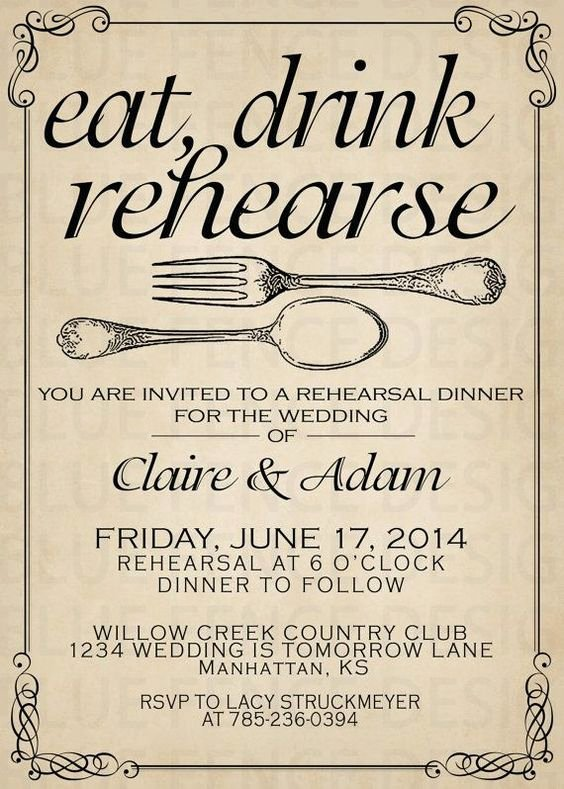 Rehearsal Dinner Menu Template Elegant Dinner Dinner Invitations and Wedding On Pinterest