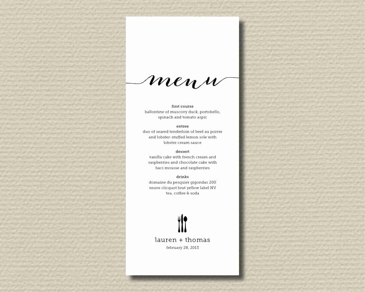 Rehearsal Dinner Menu Template Inspirational Best 25 Rehearsal Dinner Menu Ideas On Pinterest