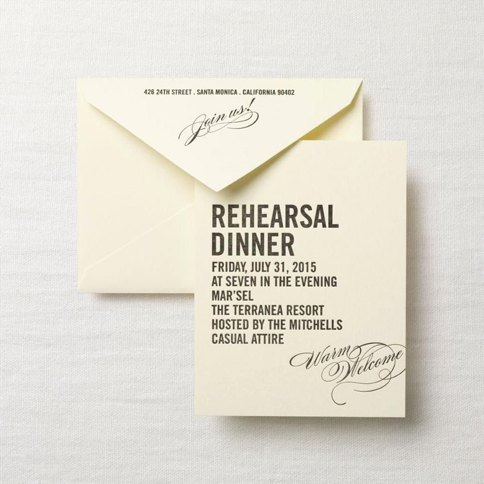 Rehearsal Dinner Menu Template Inspirational Rehearsal Dinner Invitations Rehearsal Dinner