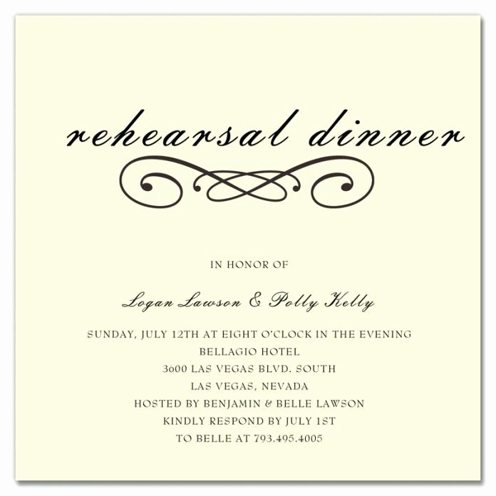 Rehearsal Dinner Menu Template Inspirational when Should Rehearsal Dinner Invitations Be Sent