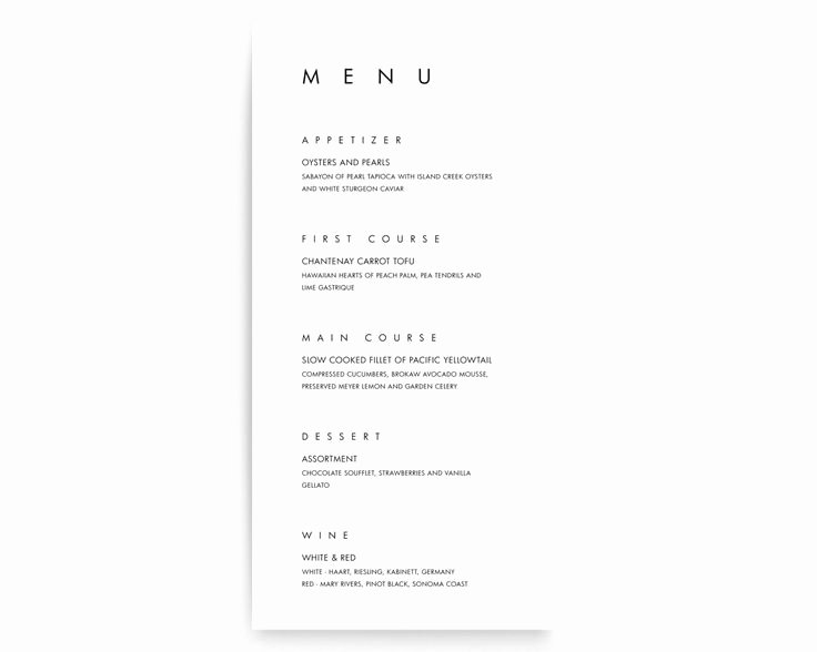 Rehearsal Dinner Menu Template Luxury Best 25 Rehearsal Dinner Menu Ideas On Pinterest