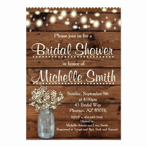 Rehearsal Dinner Slideshow Template Awesome Mason Jars Shower Invitations 2013 Popular Wedding Trends