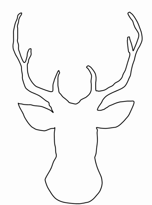 Reindeer Cut Out Template Beautiful How to Make A Reindeer Christmas Card without Any Special