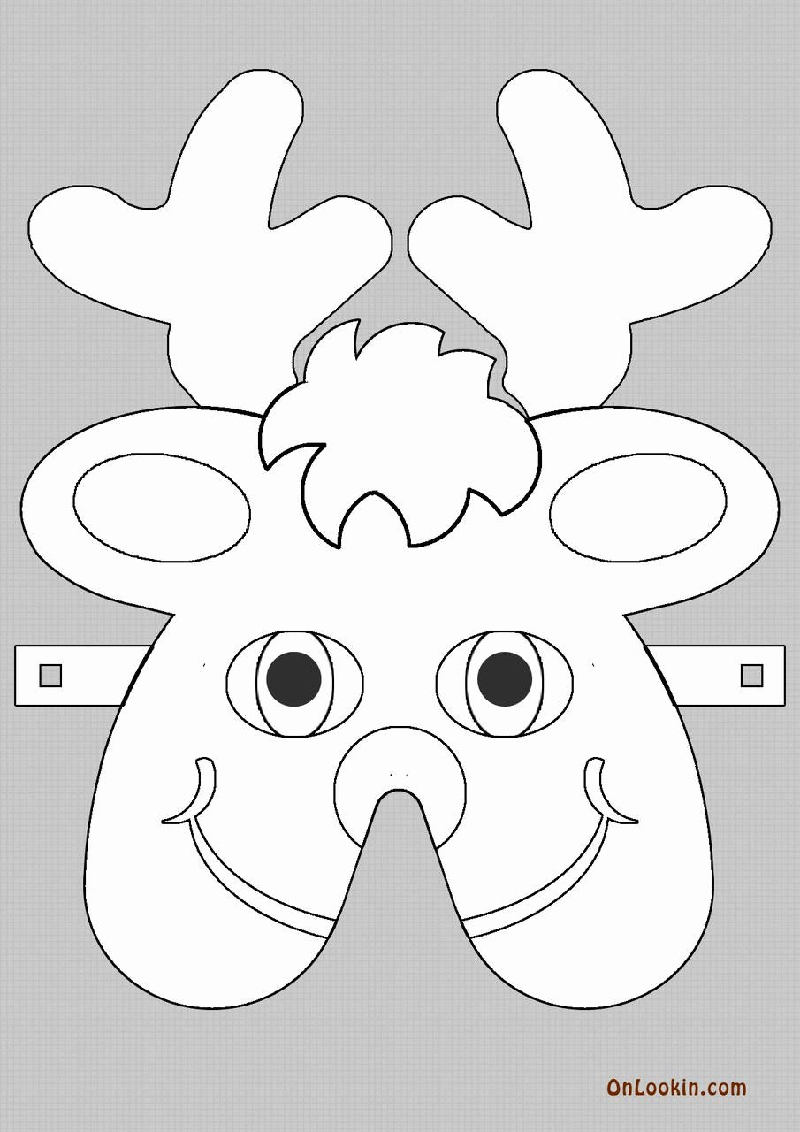 Reindeer Template Cut Out Luxury 46 Awesome Reindeer Cut Out Pattern