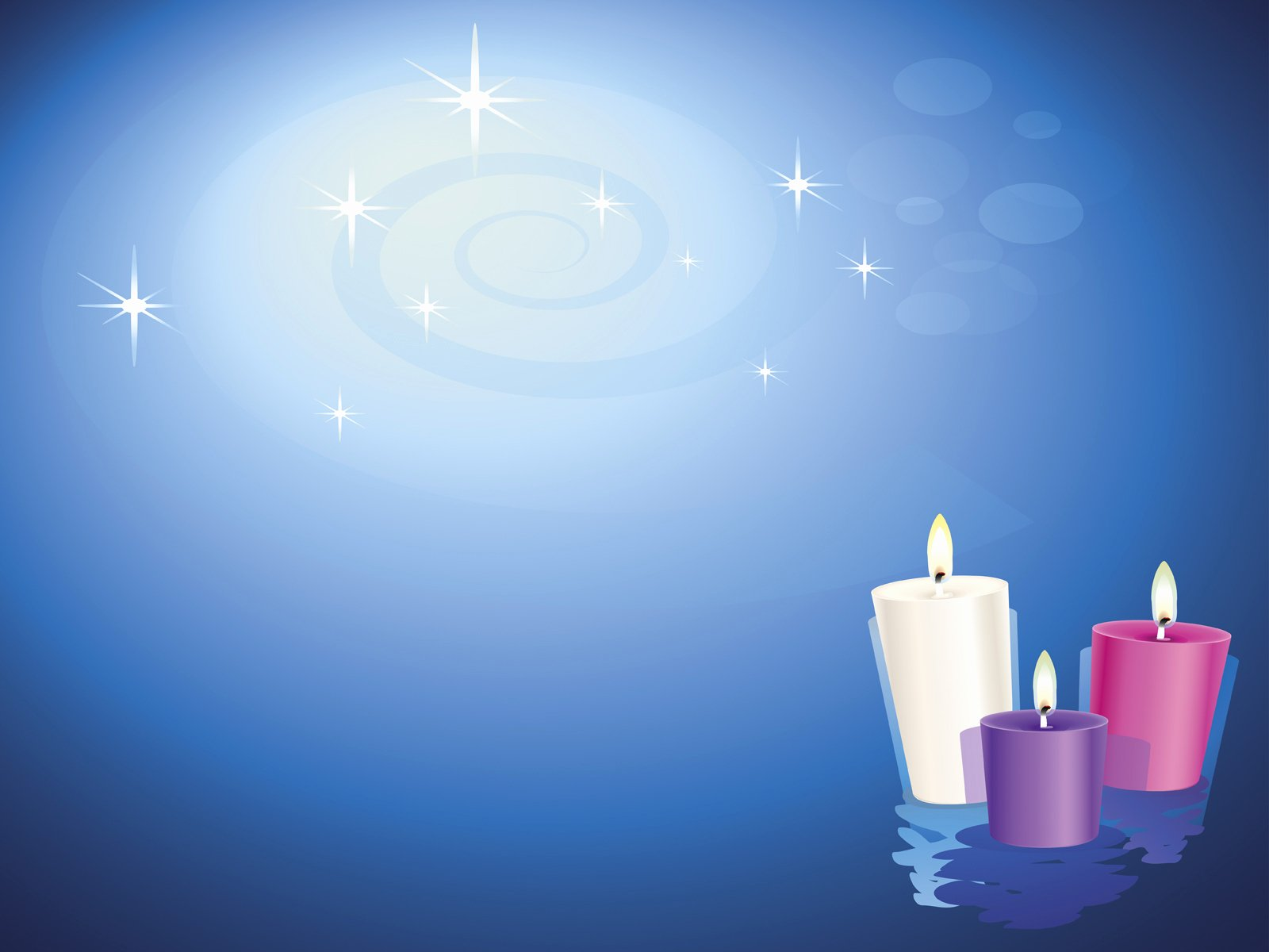Religious Power Point Template Lovely Lit Christian Candles Backgrounds