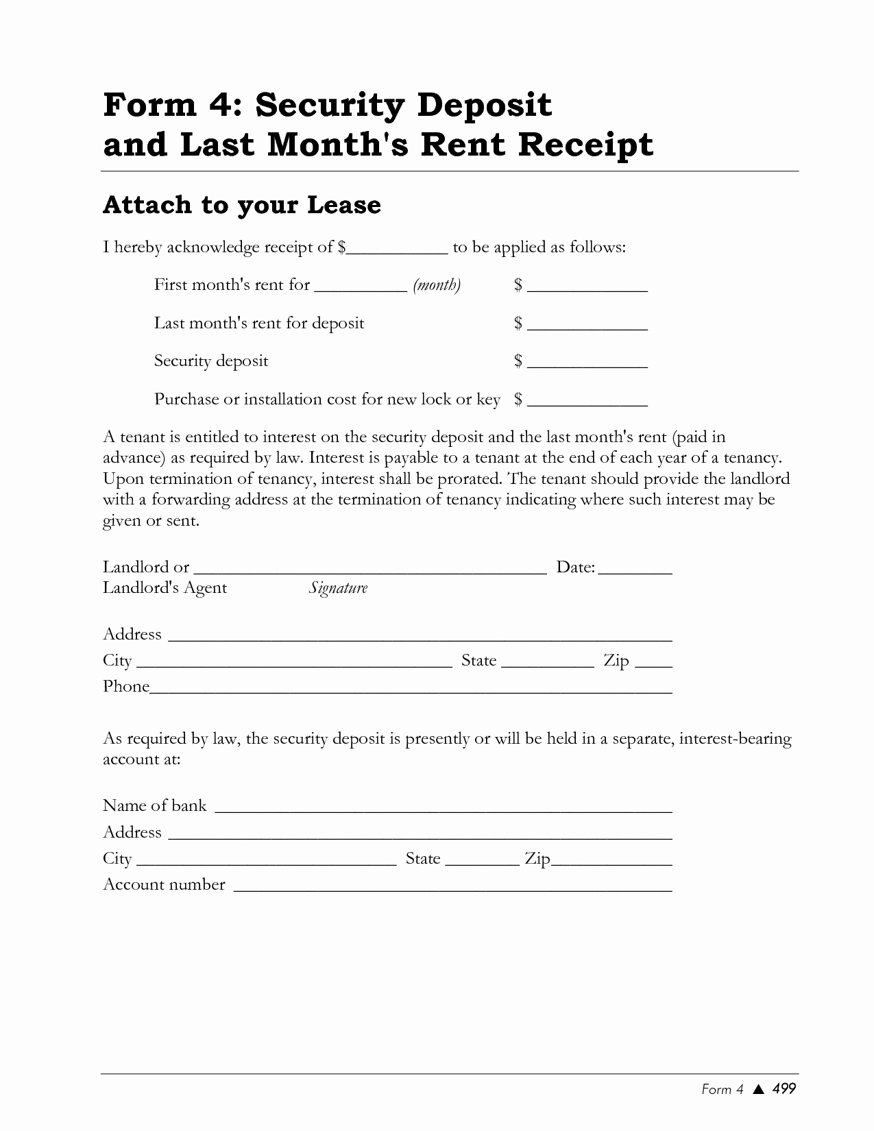Rent Deposit Receipt Template Elegant Best S Of Rental Deposit Receipt Template Rent