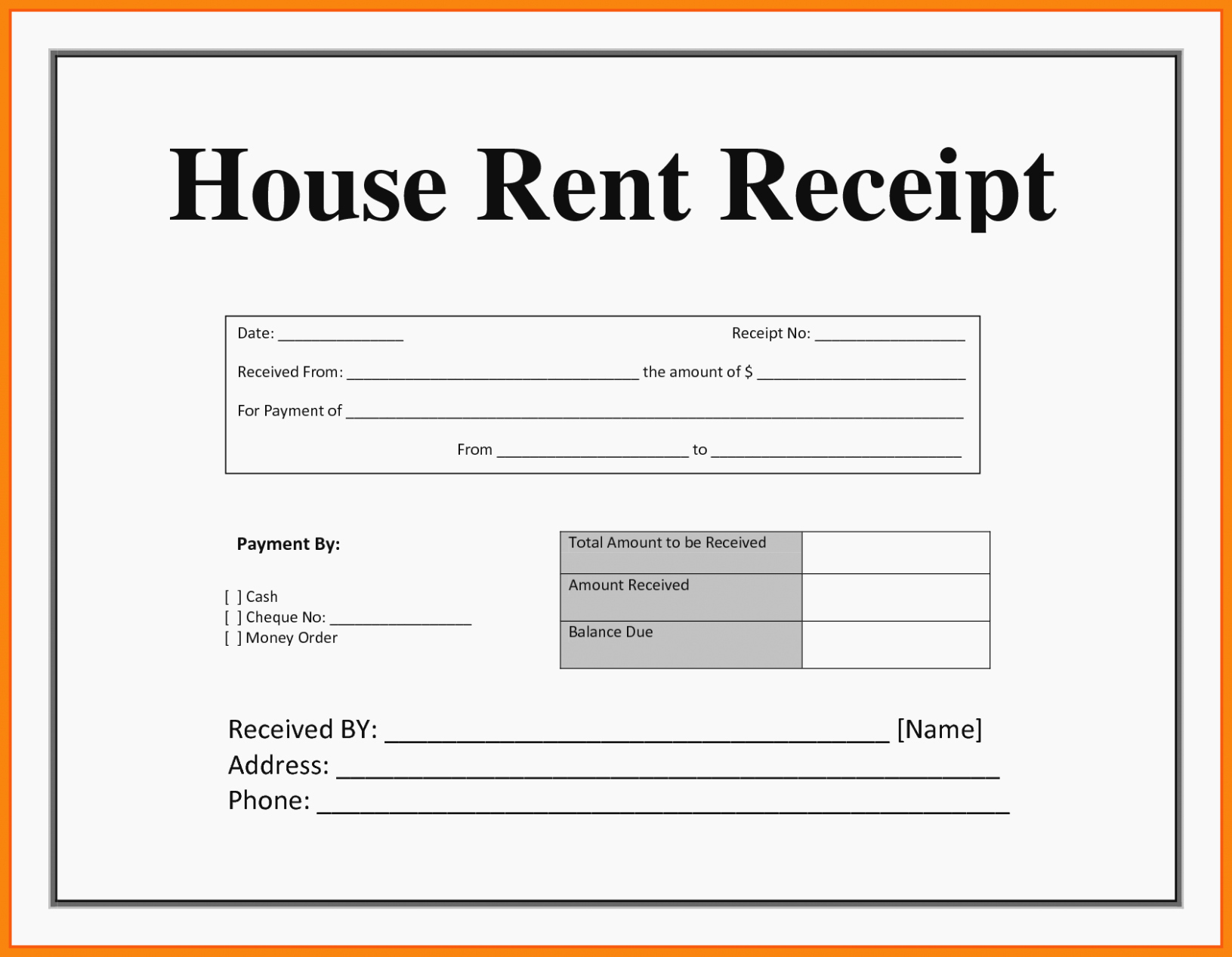 Rent Invoice Template Pdf Lovely Everything You Need to