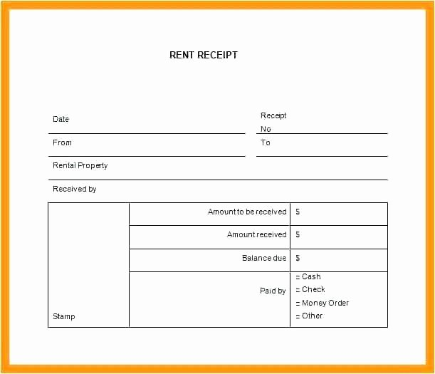 Rent Invoice Template Pdf Luxury Rent Receipt format – Puebladigital