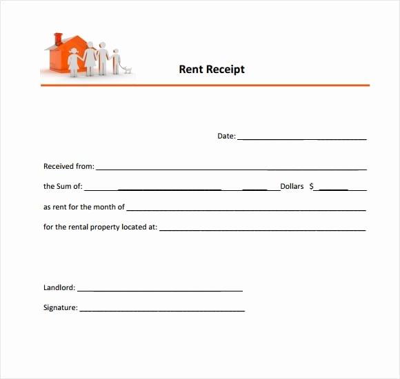 Rent Invoice Template Word Fresh 6 Free Rent Receipt Templates Excel Pdf formats