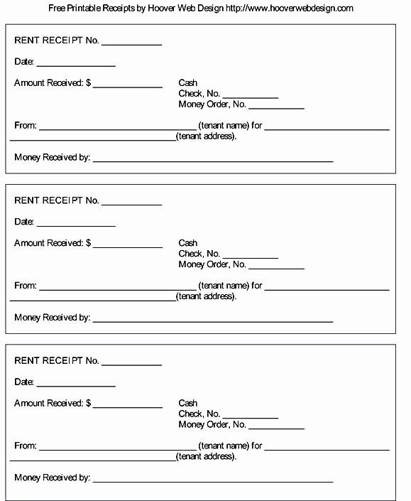 Rent Receipt Template Doc Lovely Free Rent Receipt Template and What Information to Include