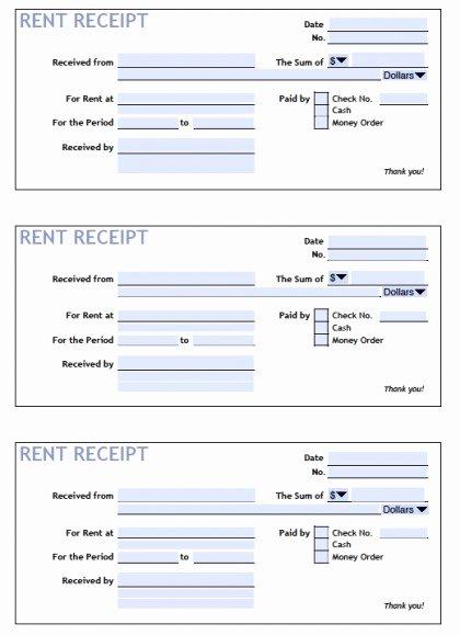 Rent Receipt Template Doc Luxury Download Printable Rent Receipt Templates Pdf