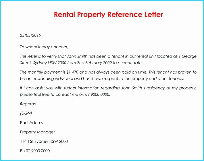 Rental Reference Letter Template Luxury Proof Of Rent Payment Letter Sample – Rightarrow Template
