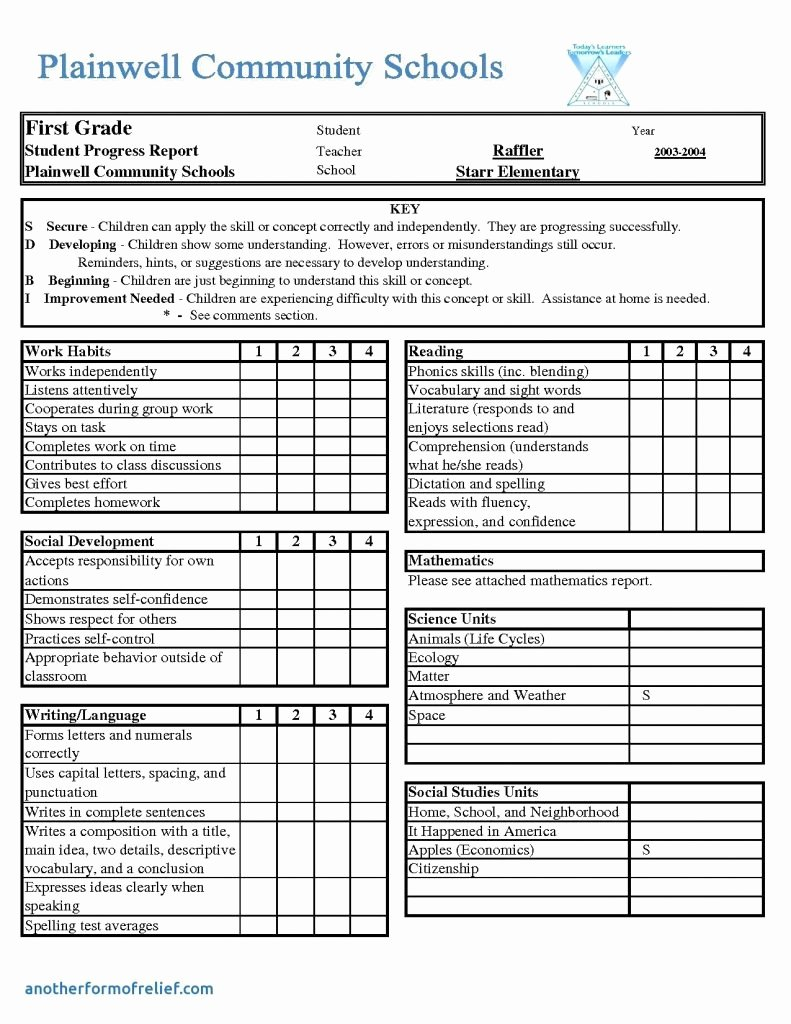 Report Card Template Excel Luxury Report Card Template Excel Lorgprintmakers