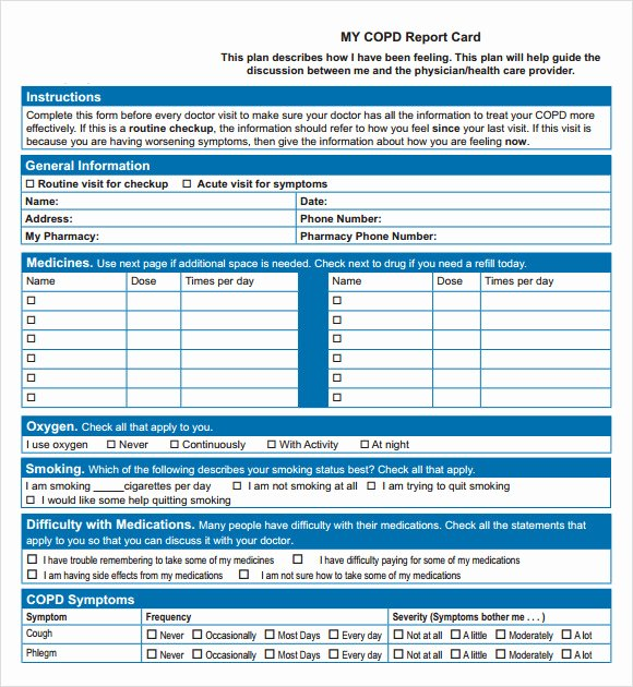 Report Card Template Pdf Best Of Report Card Template 33 Free Word Excel Documents