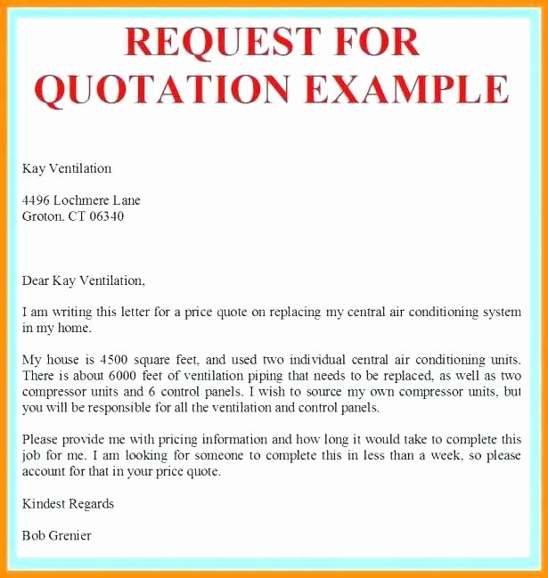 Request for Quotation Template Best Of Request for Quote Template Trade Quotation Template Quote