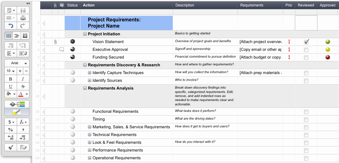 Requirements Gathering Template Excel Fresh Guest Post Gathering Good Requirements
