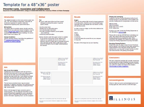 Research Presentation Powerpoint Template Elegant 8 Powerpoint Poster Templates Ppt