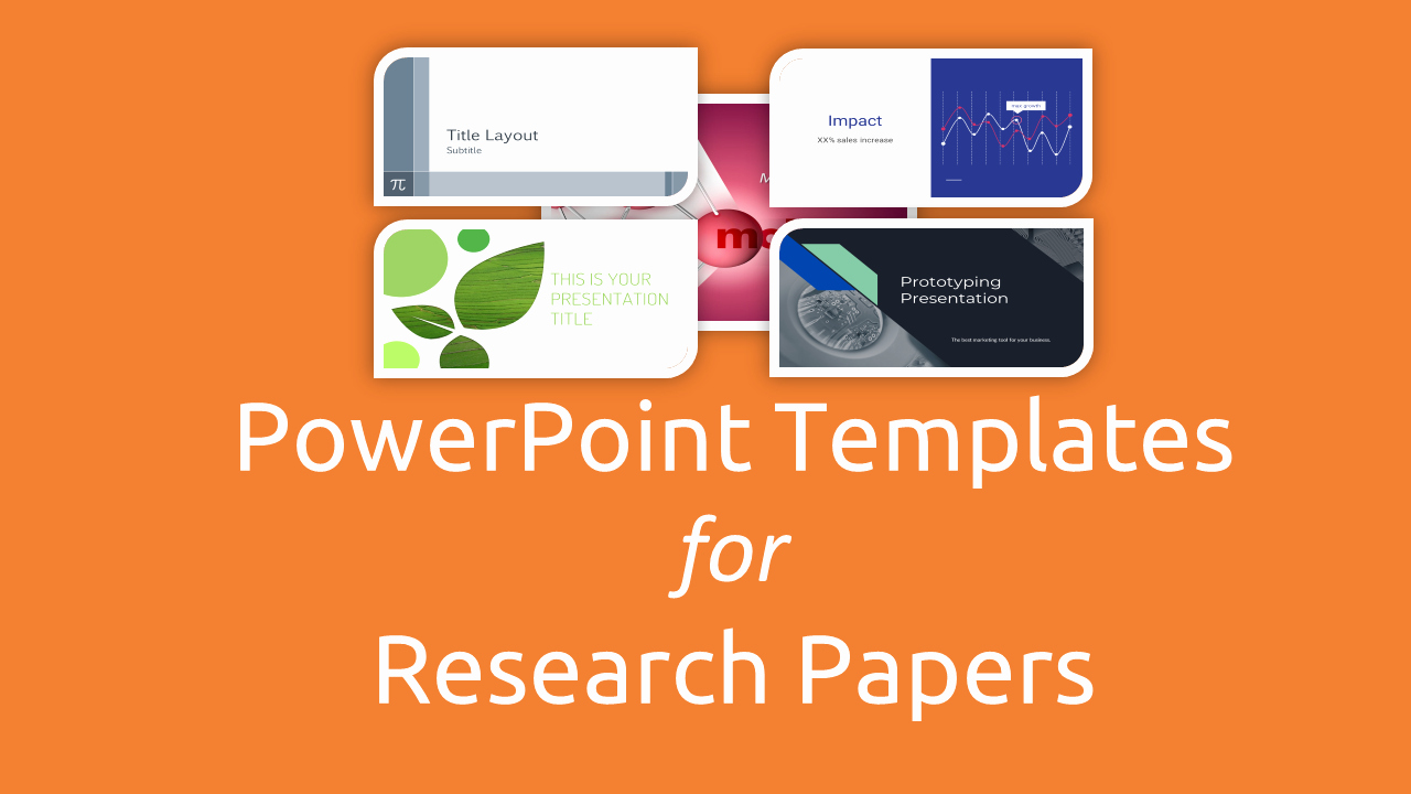 Research Presentation Powerpoint Template New Free Powerpoint Templates for Research Papers Presentation