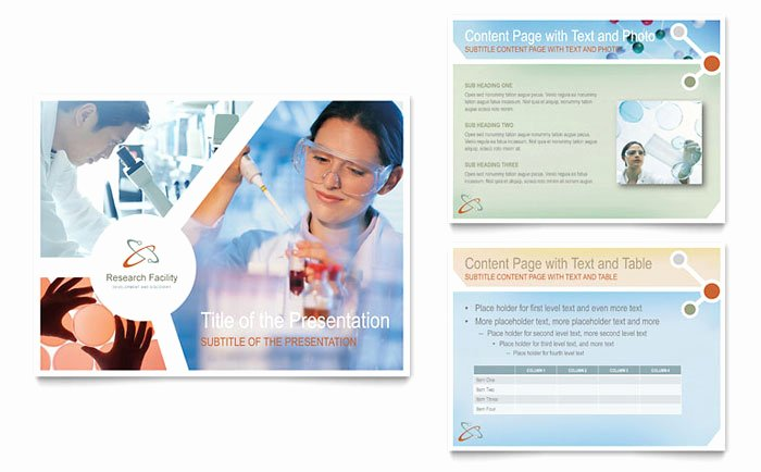 Research Presentation Powerpoint Template New Medical Research Powerpoint Presentation Template Design