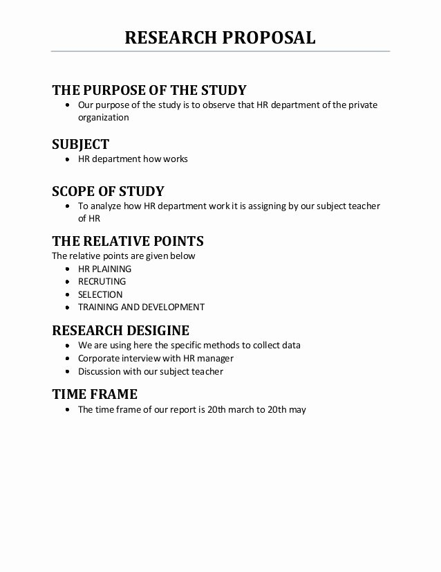Research Proposal Outline Template Elegant Outline Of A Science Research Plan Google Search