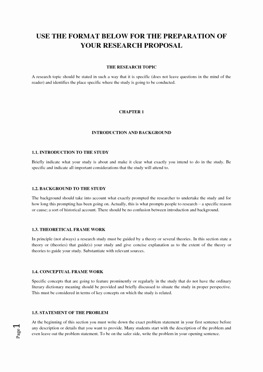 Research Proposal Outline Template Elegant Research Proposal Template Apa format Template A