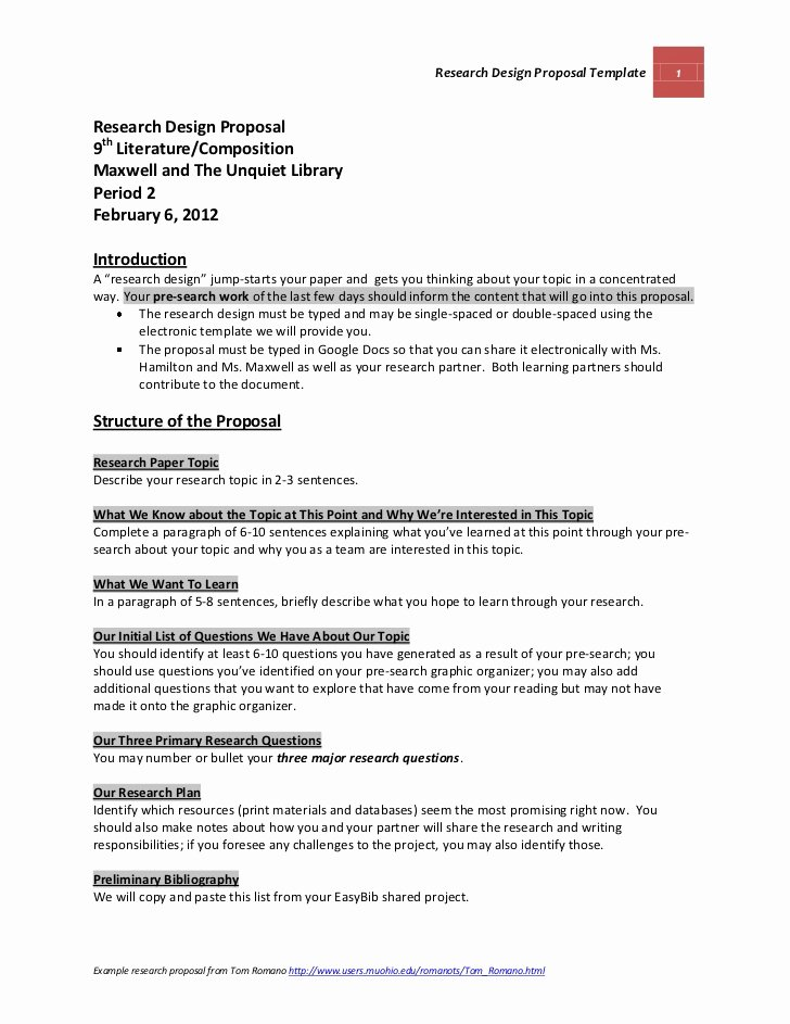 research design proposal guidelines and template maxwell and the unquiet library grade 9