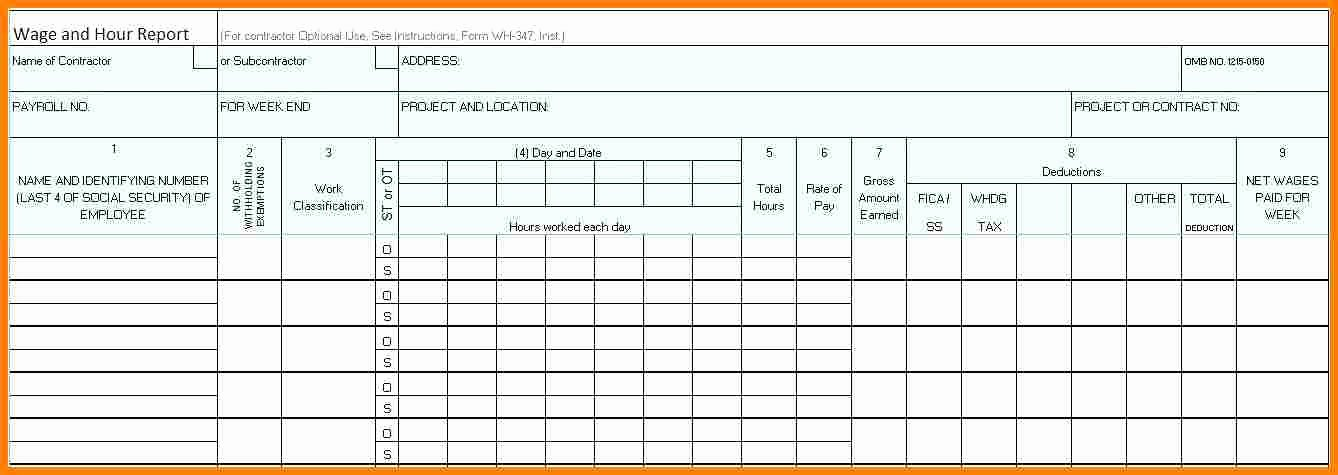 Residential Construction Schedule Template New 5 Payroll Template Excel