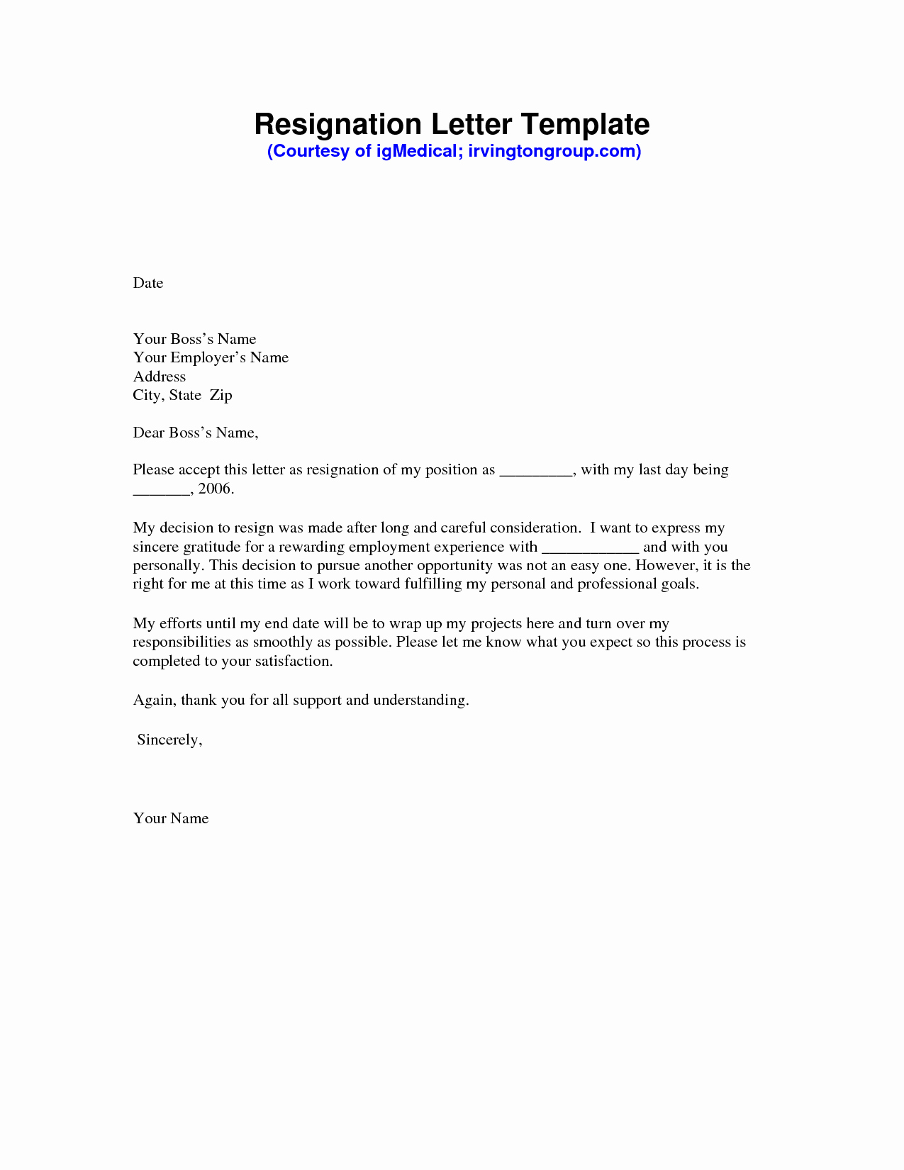 Resignation Letter Template Pdf Beautiful Resignation Letter Sample Pdf
