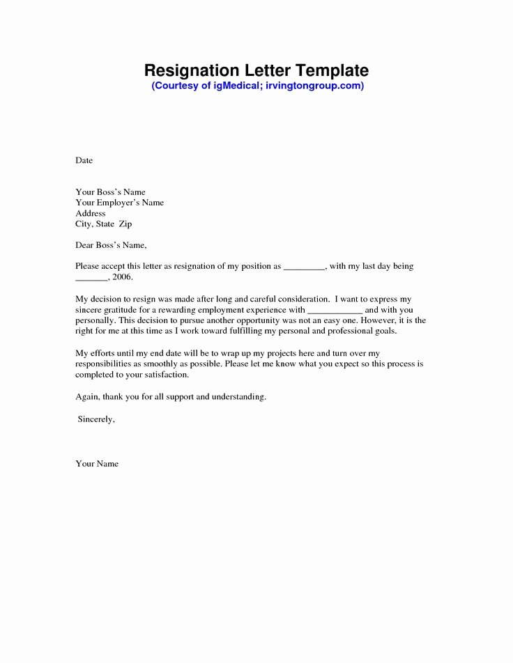 Resignation Letter Template Pdf Best Of the 25 Best Resignation Letter Ideas On Pinterest