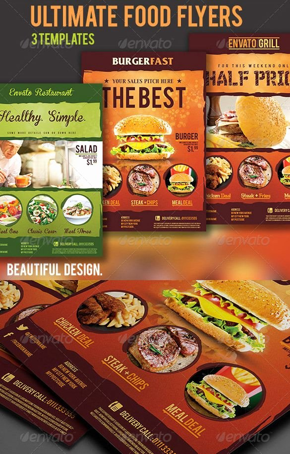 Restaurant Flyer Template Free Beautiful Restaurant Flyer Template – 56 Free Word Pdf Psd Eps