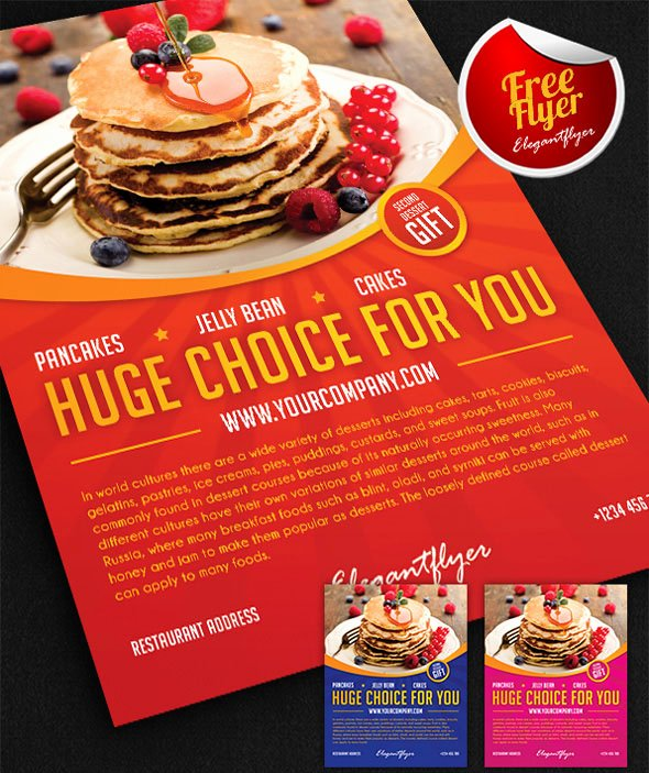 Restaurant Flyer Template Free Best Of 72 Free & Premium Restaurant Templates Suitable for