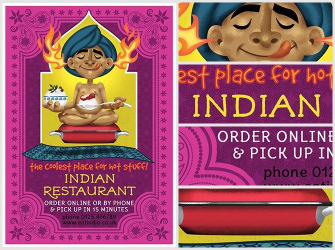 Restaurant Flyer Template Free Luxury Indian Restaurant Flyer Template Flyerheroes