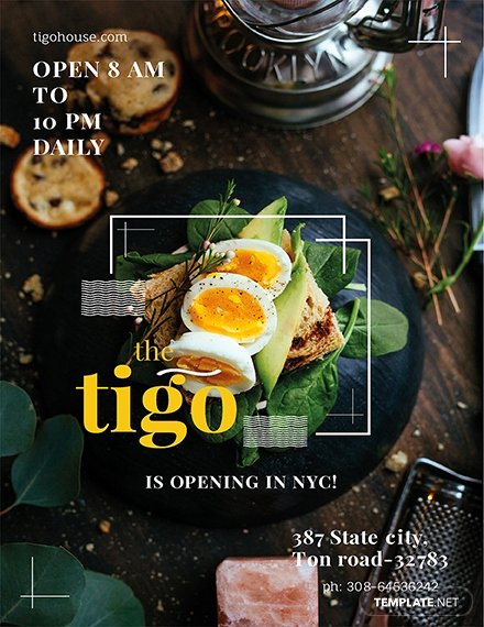 Restaurant Flyer Template Free New Free Restaurant Flyer Template Download 675 Flyers In