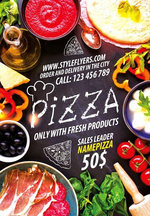 Restaurant Flyer Template Free Unique Download the Pizza Restaurant Free Flyer Template for