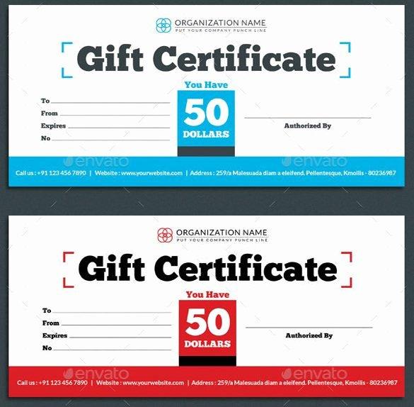 Restaurant Gift Certificate Template Lovely Gift Certificate Shop Template