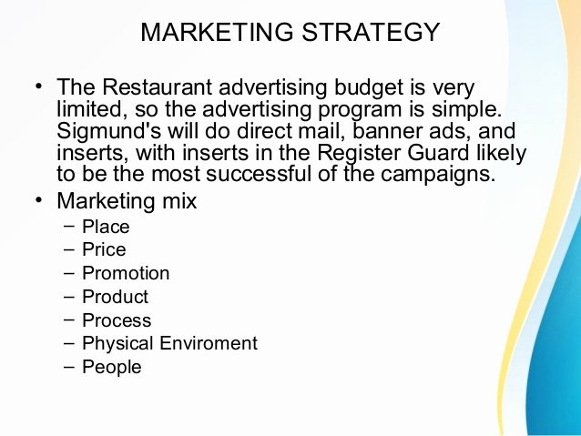 Restaurant Marketing Plan Template Best Of 12 Restaurant Marketing Plan Examples Pdf Word Pages