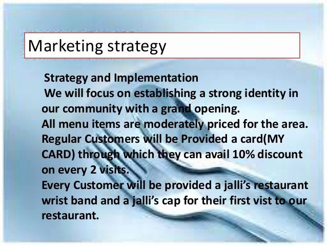 Restaurant Marketing Plan Template Inspirational Marketing Strategies Of Restaurant