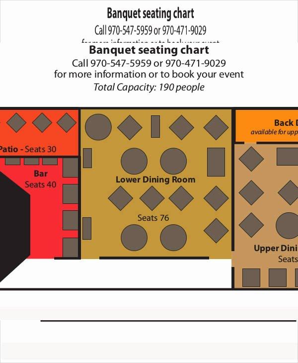 Restaurant Seating Chart Template Lovely 11 Seating Chart Template – Free Sample Example format