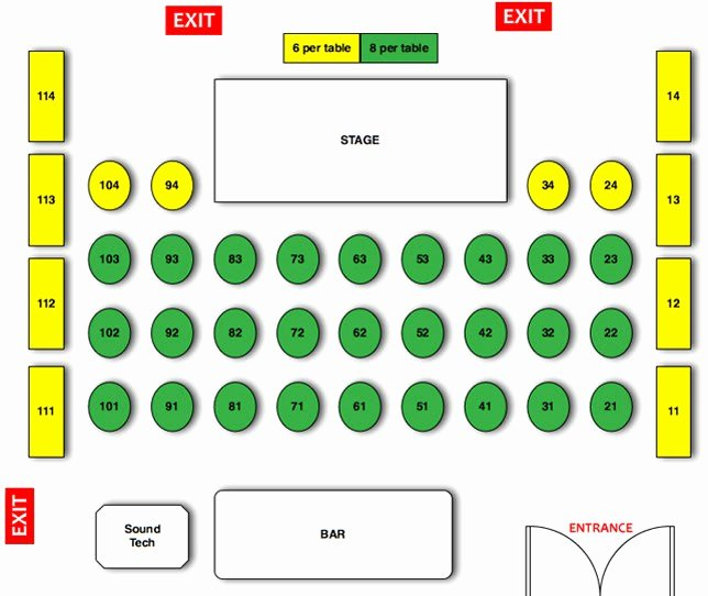 Restaurant Seating Chart Template New Restaurant Seating Chart